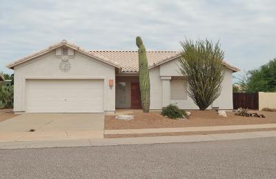 Tucson Single Family Home Active Contingent: 10071 E Paseo De La Masada
