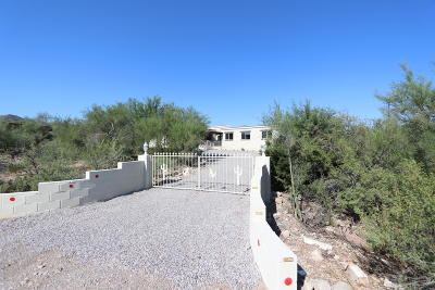 Tucson Single Family Home Active Contingent: 1711 N Painted Hills Road