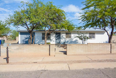 Tucson Single Family Home Active Contingent: 3121 S Oberon Road