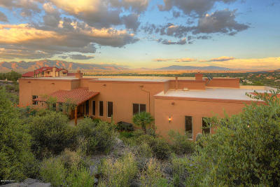 Tucson Single Family Home For Sale: 4740 W Crestview Circle