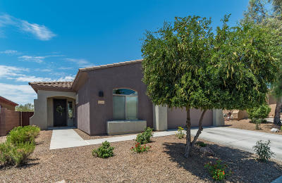 Marana Single Family Home Active Contingent: 12705 N New Reflection Drive