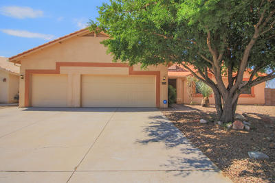 Tucson Single Family Home Active Contingent: 9578 E Paseo San Bernardo