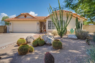 Tucson Single Family Home Active Contingent: 9600 E Glasgow Place