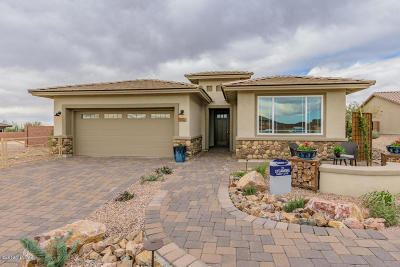 Marana Single Family Home For Sale: 7360 W Cactus Flower Ps Pass W