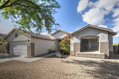 Tucson Single Family Home Active Contingent: 8215 N Pink Pearl Way
