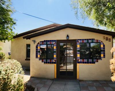 Tucson Single Family Home For Sale: 437 W 41st Street