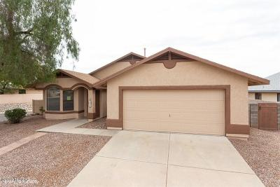 Tucson Single Family Home For Sale: 4931 W Hurston Drive