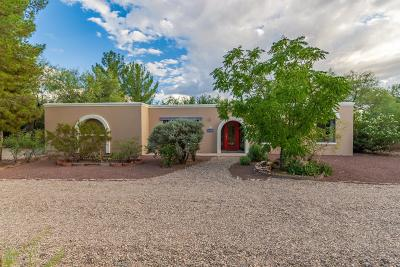 Tucson Single Family Home For Sale: 11420 E Fort Lowell Road
