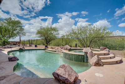 Tucson Single Family Home Active Contingent: 39414 S Winding Trail