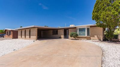 Tucson Single Family Home Active Contingent: 2102 S Camino Seco