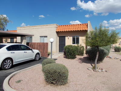 Pima County Townhouse For Sale: 899 S Pantano Parkway
