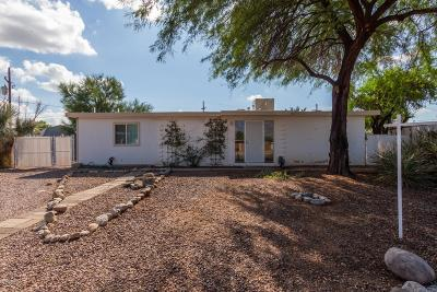 Pima County Single Family Home Active Contingent: 3421 S Lakeside Place