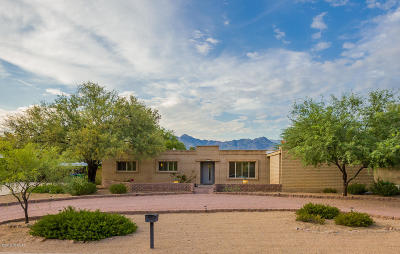 Tucson Single Family Home For Sale: 7635 E Calle Los Arboles