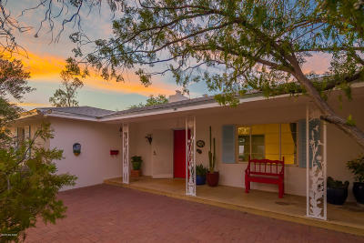 Tucson Single Family Home Active Contingent: 4127 E Holmes Street