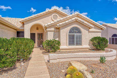 Tucson Single Family Home For Sale: 37632 S Mashie Drive
