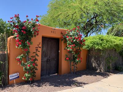 Tucson Single Family Home For Sale: 901 W Emery Street