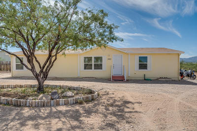 Pima County Manufactured Home For Sale: 13822 E Blue Cactus Lane
