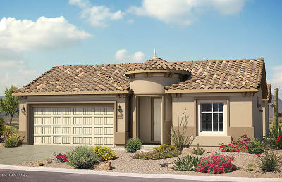 Marana Single Family Home For Sale: 6827 W Cliff Spring Trail