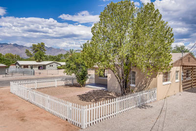 Tucson Single Family Home Active Contingent: 2032 N Baxter Drive