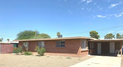 Tucson Single Family Home For Sale: 1010 W Farr Street