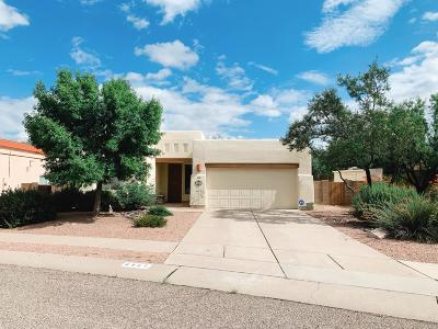 Tucson Single Family Home Active Contingent: 8889 E Windflower Drive