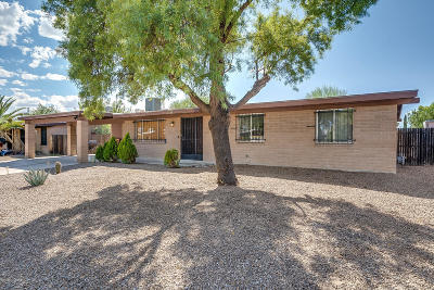 Tucson Single Family Home For Sale: 7725 N Nathan Hale Avenue