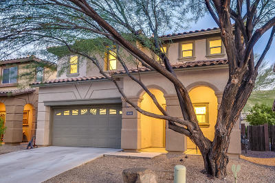 Tucson Single Family Home For Sale: 1645 W Gentle Brook Trail