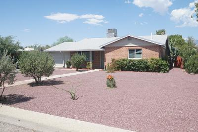 Tucson Single Family Home For Sale: 6139 E Hawthorne Street