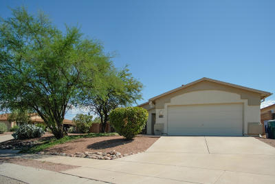 Tucson Single Family Home For Sale: 2338 W Horseshoe Place