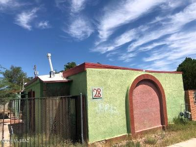Tucson Single Family Home For Sale: 28 W 28th Street