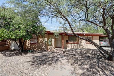 Tucson Single Family Home For Sale: 3357 E Pima Street