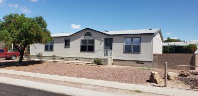 Pima County Manufactured Home For Sale: 2854 E Cottonwood Club Lane