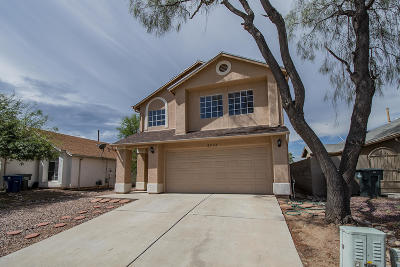 Tucson Single Family Home For Sale: 5364 S Stockwell Road