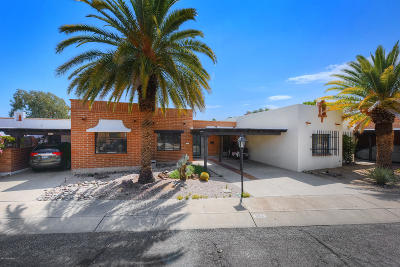 Pima County Townhouse For Sale: 353 S Paseo Chico