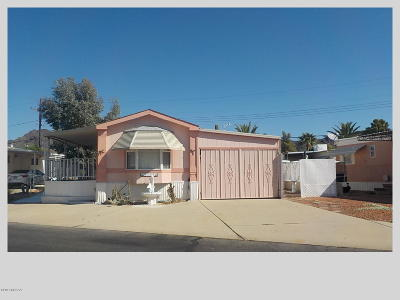 Pima County Manufactured Home For Sale: 5772 W Flying M Street