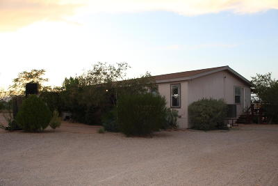 Pima County Manufactured Home For Sale: 17128 W Calle Carmela