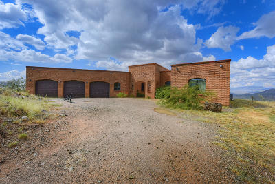 Pima County Single Family Home For Sale: 19309 S Sonoita Highway