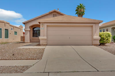 Tucson Single Family Home For Sale: 7819 S Castle Bay Street