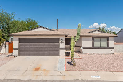 Tucson Single Family Home For Sale: 2570 W Lazybrook Drive