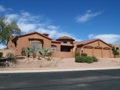 Oro Valley Single Family Home For Sale: 22 W Desert Knoll Place