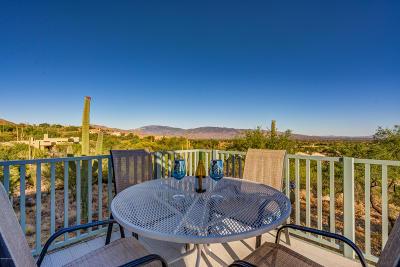 Tucson Single Family Home Active Contingent: 9654 E Sabino Estates Drive