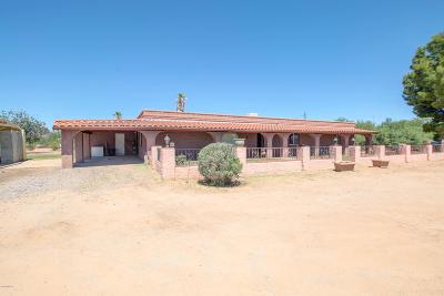 Sahuarita Single Family Home For Sale: 4190 E Dawson Road