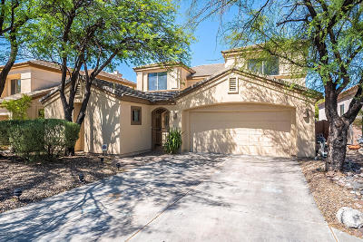 Tucson Single Family Home Active Contingent: 5177 N Contentment Court