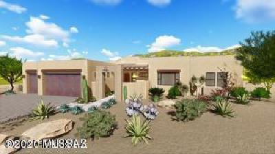 Oro Valley Single Family Home For Sale: 1299 W Placita La Greda