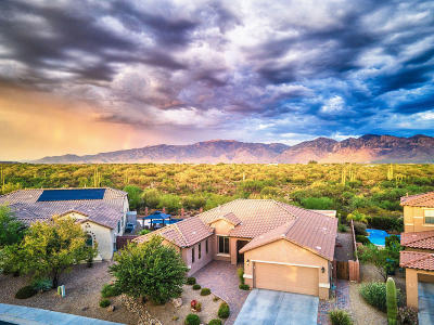 Marana Single Family Home Active Contingent: 12560 N Paseo Penuela