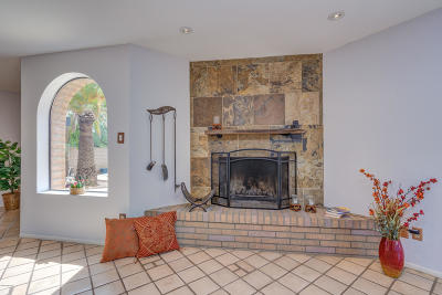 Tucson Single Family Home Active Contingent: 317 E Canyon View Drive