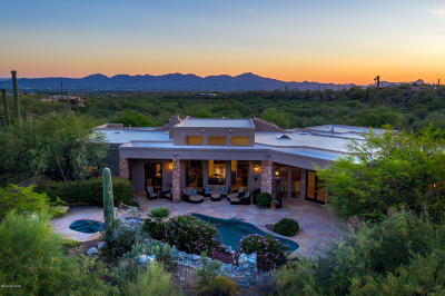 Tucson Single Family Home For Sale: 1476 E Canyon Spring Court
