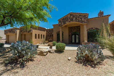 Oro Valley Single Family Home Active Contingent: 13802 N Javelina Springs Place