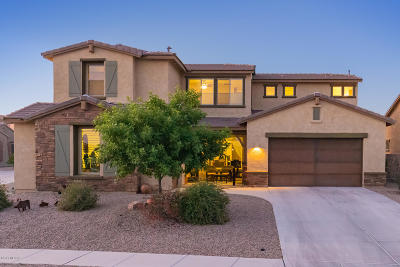 Oro Valley Single Family Home Active Contingent: 10991 N Delphinus Street