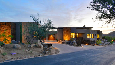Oro Valley Single Family Home Active Contingent: 14598 N Rocky Highlands Drive